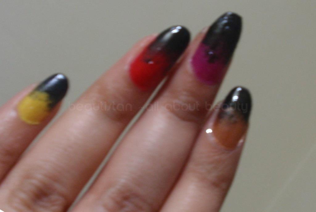 how to clean nail art sponge